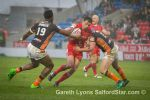 Salford Red Devils 13 Castleford Tigers 12